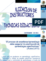 Cur So Tecnica s Didactic as 2011