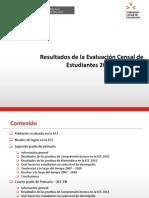 Resultados ECE 2011
