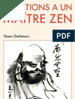 Questions a Un Maitre Zen - Taisen Deshimaru