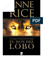 El Don Del Lobo - Anne Rice