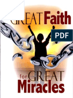 Great Faith for Great Miracles - Peter Youngren