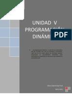 PROGRAMACIÓN  DINÁMICA. FINAL