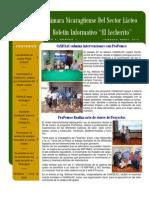 Boletín Febrero - Abril  2013