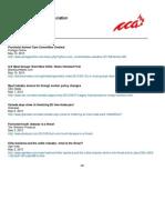 CCA Headlines May 6 – May 10, 2013