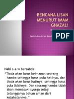 42567705 Bencana Lisan Menurut Imam Ghazali