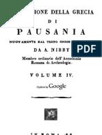 Pausania - Descrizione Della Grecia Vol. 4