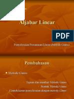 Aljabar Linear-5