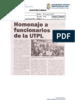 Informe de prensa semana del 3 al 10 de mayo de 2013