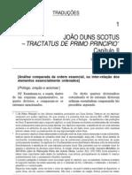 Tractatus de Primo Principio - Duns Scotus