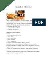 Waffle sem Glúten e Lactose