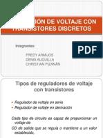 Regulacion de Voltaje
