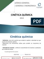 Cinetica y Equilibrio 2012