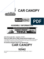 Two Car Canopy Model 92942(2)