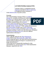 Introduction of Unified Modeling Language (UML)