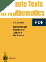Mathematical Methods of Classical Mechanics v I Arnold