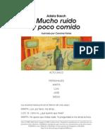 BaschMuchoruidoypococomido Obra de Teatro
