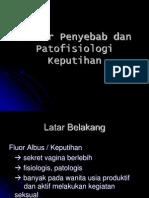 Faktor Penyebab Dan Patofisiologi Keputihan
