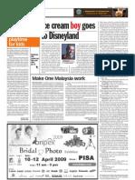 thesun 2009-04-06 page10 ice cream boy goes to disneyland