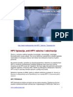 Anti-HPV Vakcina i Vakcinacija