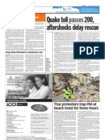 thesun 2009-04-08 page08 quake toll passes 200 aftershocks delay rescue