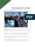 Aficionados Del Club Zenit No Admiten Ni Negros Ni Homosexuales