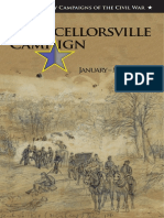 The Chancellorsville Campaign January-May 1863