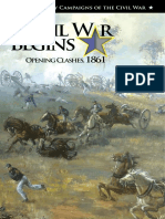 The Civil War Begins Opening Clashes 1861