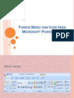 Fungsi Menu Dan Icon Pada Microsoft Powerpoint