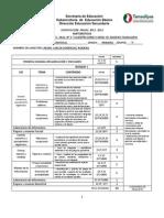 Dosificacion Anual Primero Ddddd- Copia