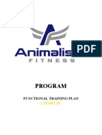 Functional Training Plan C