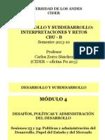 Sesiones 23 y 24, Políticas y gestión del desarrollo-1