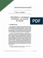 Agricultura y Crecimiento Economico.ii