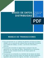 Bases de Datos DistribuidasIII