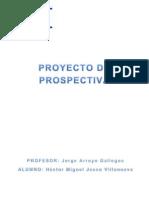 Proyecto de Prospectiva