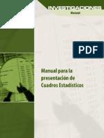Manual PRESENTACIÓN DE CUADROS ESTADISTICAS INEI