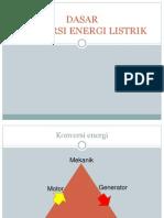 Dasar Konversi Energi