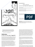 Love +Justice in times of war Haggadah