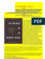 Le secret de la fleur d'or (commenté)
