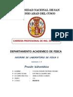 Informe de Laboratorio FISICA II - 3