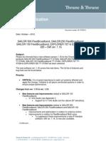 Tech Note FBB500-250-150 EXP325-727 - SW Release Ver 116_Rev_A
