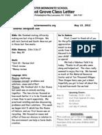 Newsletter 5 10