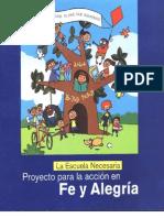 Fe y Alegria Libro Escuela Necesaria