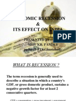 Economic Recession by shiv pandey