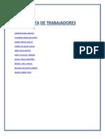 Lista de Clientes
