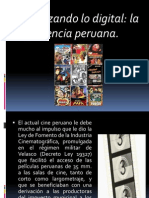 Cine digital Perú