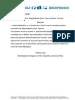 El Articulo de Revision