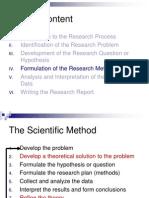 Sampling Procedures