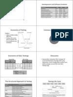Wconomics of SoftwareTesting