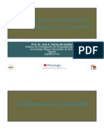 Comoinfluyelapublicidaddealcoholytabaco JoseAGarciadelCastillo PhD 2012