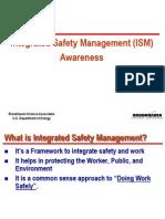 ISM General Awareness Final